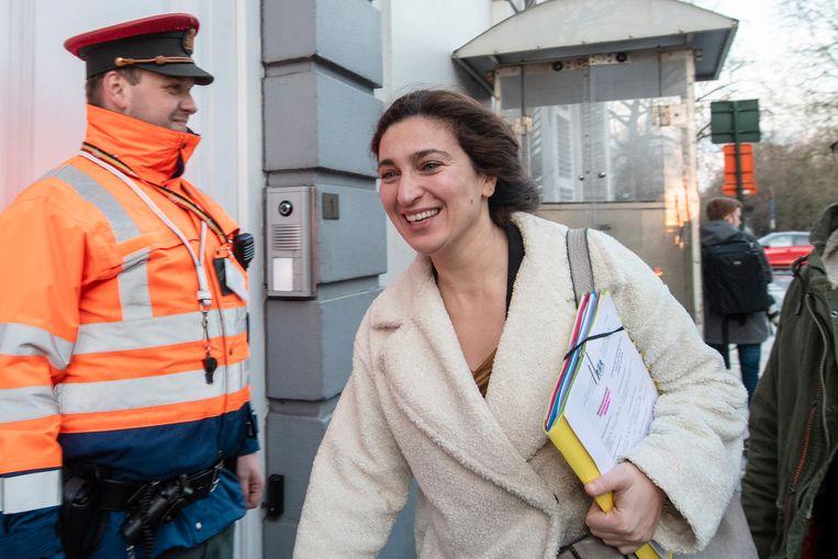 Vlaams minister van Justitie en Handhaving, Omgeving, Energie en Toerisme Zuhal Demir (N-VA) liet zich het meest rondrijden.