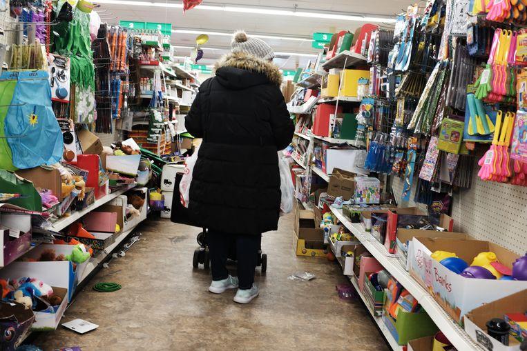 Een Dollar General-winkel in New York. Beeld Getty Images