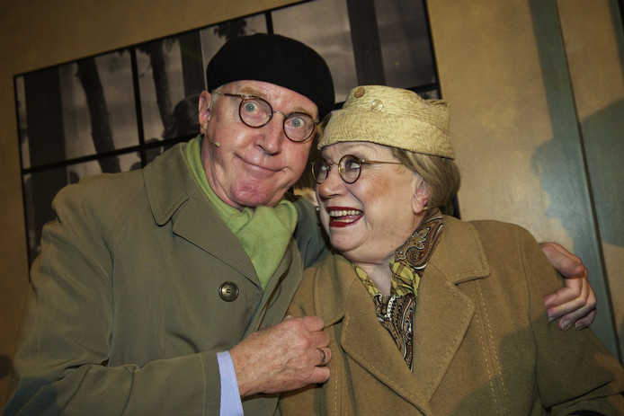 André van Duin en Corrie van Gorp als Meneer & Mevrouw de Bok