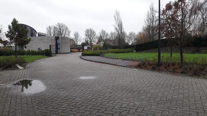 Begraafplaats Essenhof in Puttershoek.