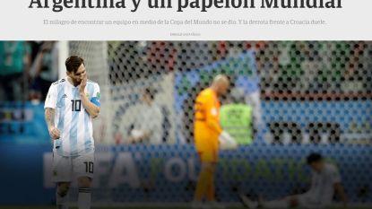 """Argentijnse media begraven Messi: """"Het vuur ontbreekt, hij heft zijn hoofd niet eens meer op. En zijn nachtmerrie is nog niet voorbij"""""""