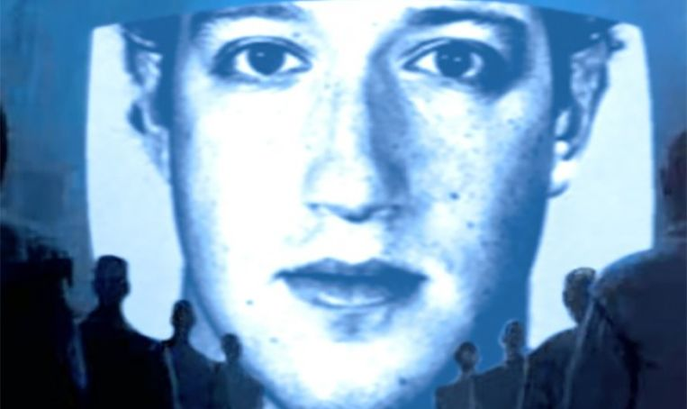 Mark Zuckerberg is watching you