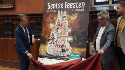 Taart voor 175 jaar oude Gentse Feesten