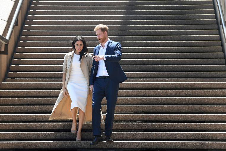 Prins Harry en Meghan mogen een deel van het jaar in Canada gaan wonen. Daar staat wel het een en ander tegenover. Beeld EPA