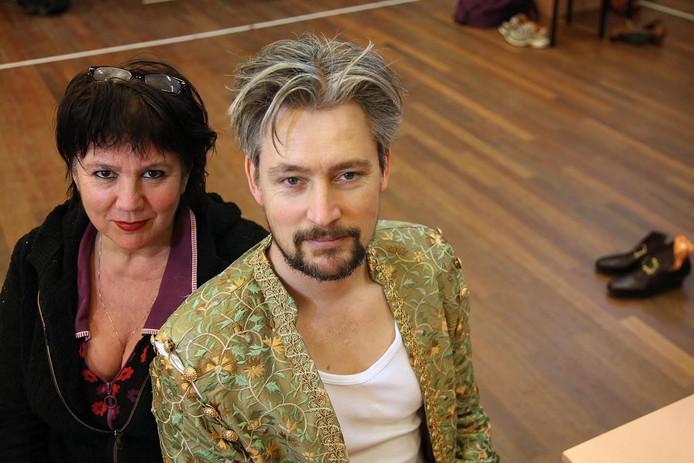 Madeleine Matzer en acteur Jasper Boeken.