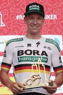 Premier Grand Tour et déjà une victoire pour le sprinteur allemand de 25 ans.