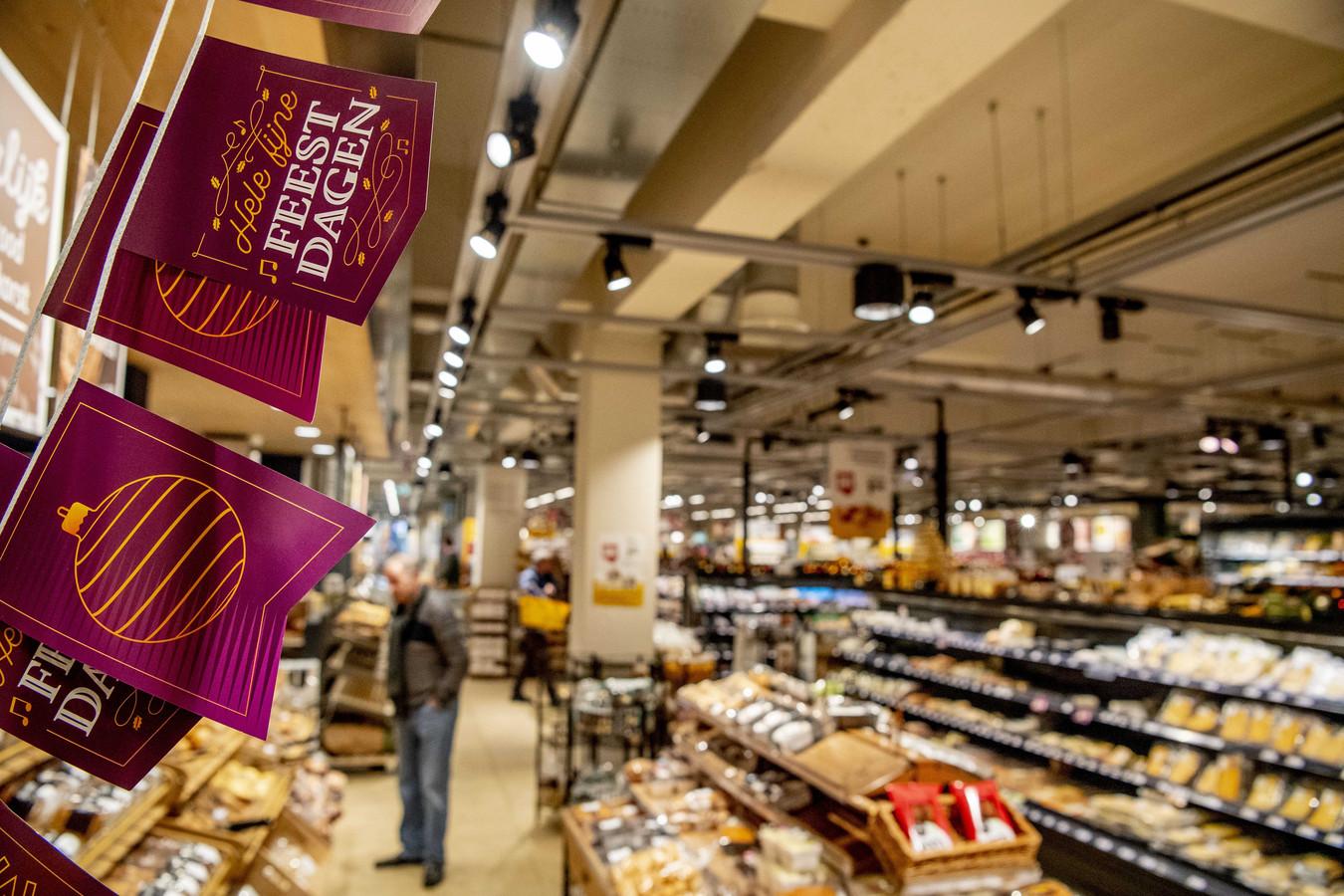 Als de boeren op 18 december de bevoorrading van de supermarkten mogelijk platleggen, is dat van grote invloed op de kerstinkopen in de winkels.