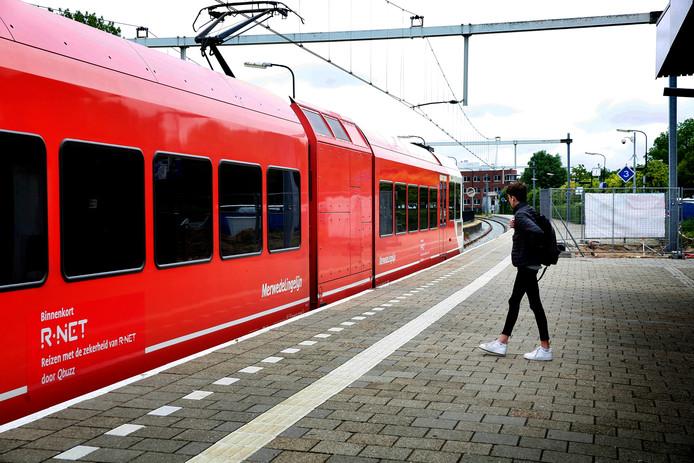Archiefbeeld van de trein bij station Gorinchem.