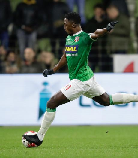 FC Dordrecht kan achterstand niet repareren tegen tiental De Graafschap