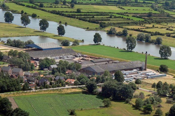 De verlaten steenfabriek van Wienerberger in Milsbeek.