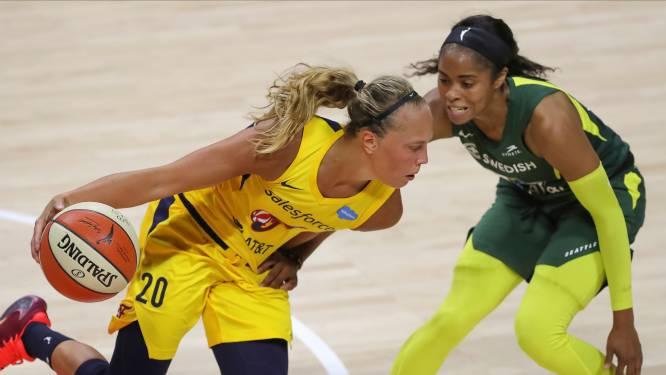Julie Allemand ziet sterk debuutjaar in WNBA beloond met plek in All-Rookie Team