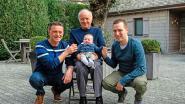 Kleine Lars maakt viergeslacht bij familie Van den Branden compleet