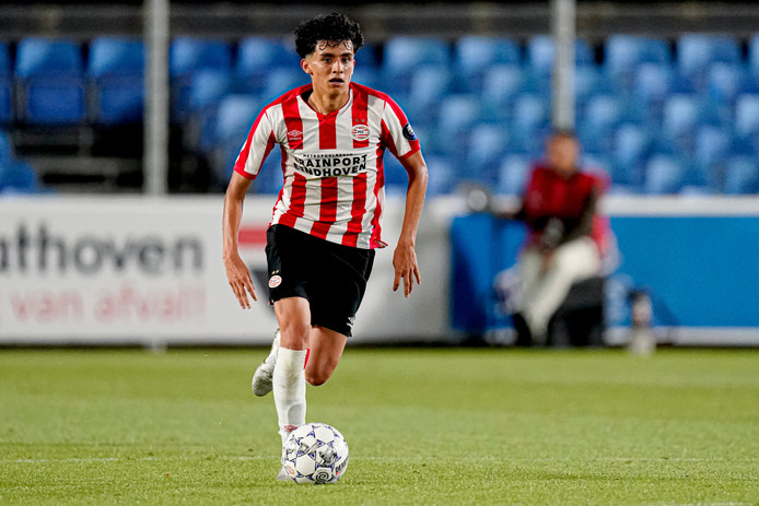 Richard Ledezma van Jong PSV.