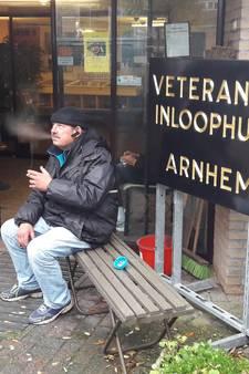 Dakloze Robbie Williams komt thuis in het veteranenhuis in Heelsum