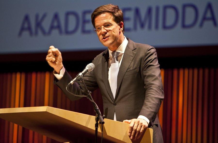 Premier Mark Rutte.