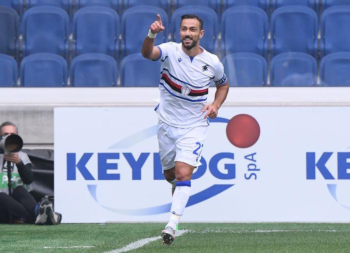 De 37-jarige heeft er dit seizoen alweer vier inliggen voor Sampdoria.