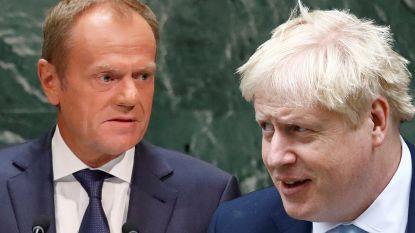 """""""Brexit-gesprekken staan op instorten"""", Tusk haalt zwaar uit naar Johnson: """"Dit is geen stom spelletje"""""""