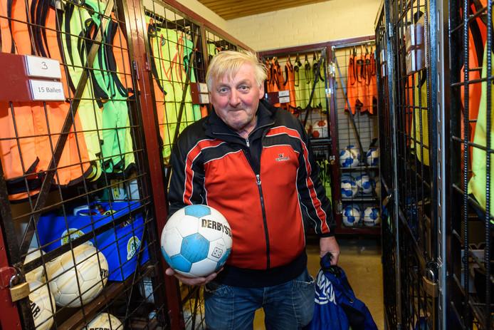 John van der Worp werd vorig jaar uitgeroepen tot clubheld van de regionale sportwereld.