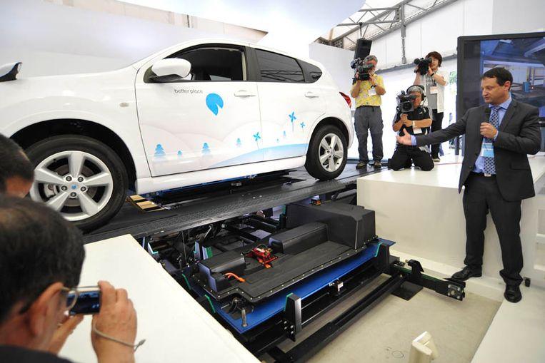 Eerste Accuwissel Elektrische Auto Duurt 80 Seconden De Volkskrant