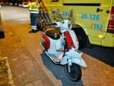 Beschonken scooterrijder gaat onderuit in Tilburg, politie pakt rijbewijs af