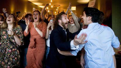 Nederlandse PvdA euforisch na overwinning Europese verkiezingen