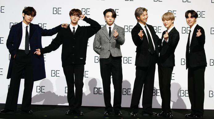 De jongens van BTS