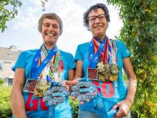 Westland is twee Six Star Finishers rijker: 'Laatste deel marathon is altijd vreselijk'