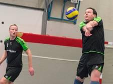 Volleyballers Xanthos vrijwel foutloos in Nijmegen