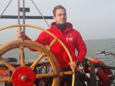 Droom van Luca (20) komt uit : IJsselmuidenaar heeft eigen zeilschip