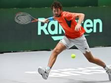 Dagje Davis Cup nieuwe stijl voor nagenoeg lege tribunes in hal 3