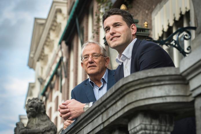 Tom Berendsen (rechts) is voorzitter van het CDA in Breda.