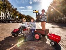 Beter milieu begint in Deventer bij afvalruimers Hugo (11), Thijmen (8) en Philip (5)
