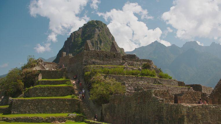 De populaire Incastad Machu Picchu in Peru. Beeld VRT