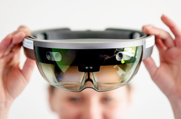 De HoloLens 2.