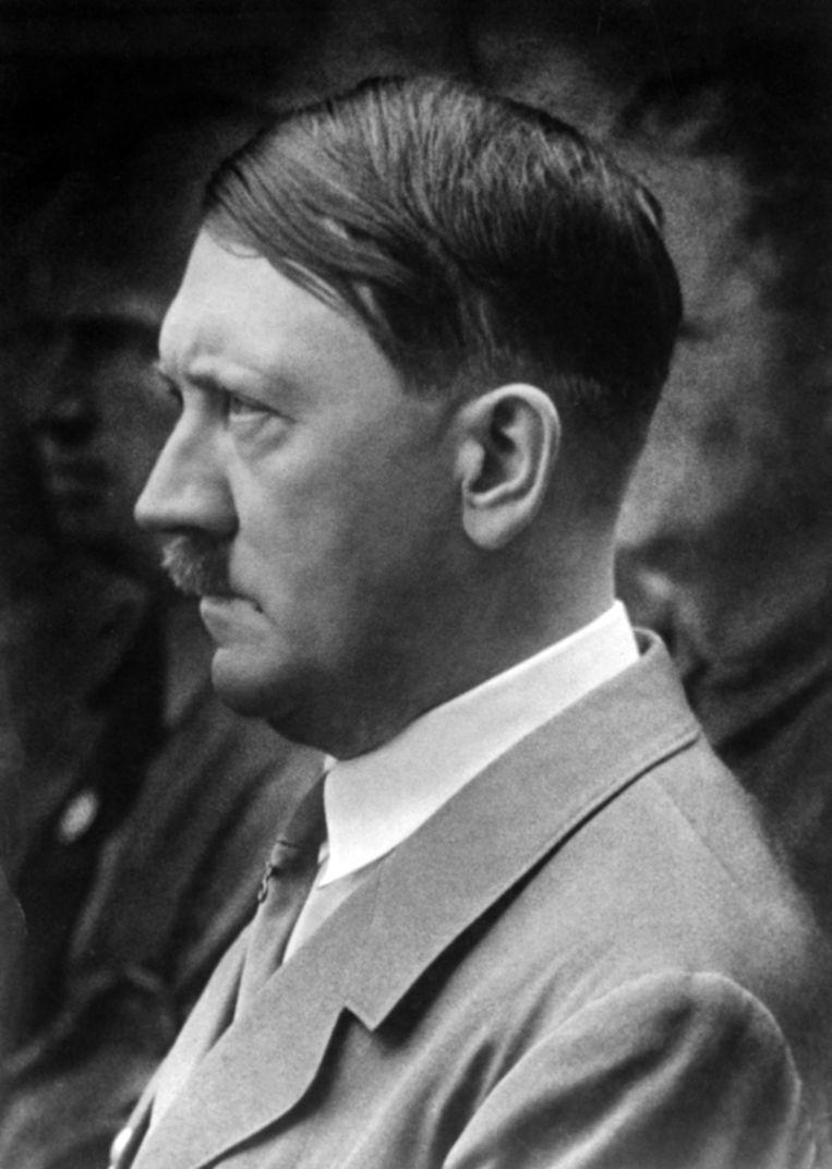 Hitler in 1943. Beeld epa