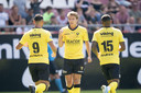 Evert Linthorst is de gevierde man bij VVV met zijn twee goals.