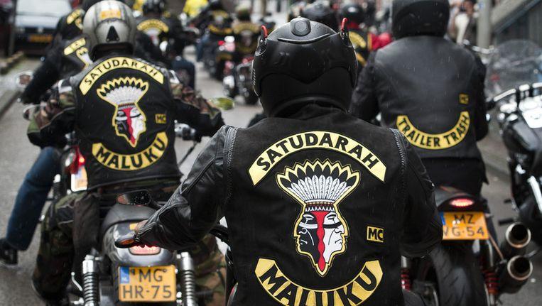 Quax is lid van motorclub Satudarah in Noord-Holland. © ANP Beeld