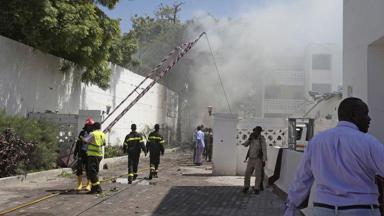 De verwoestende aanslag in Mogadishu.