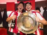 Gedragen kampioensshirts van PSV'ers  geveild voor goed doel