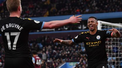 De Bruyne trekt assistteller met twee op voor meedogenloos Man City bij Aston Villa, Agüero scoort er drie
