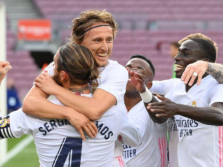 Vier goals en topsave Courtois: bekijk hoe Real de Clásico won