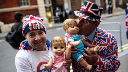 IN BEELD: de babygekte is losgebarsten bij de Britten