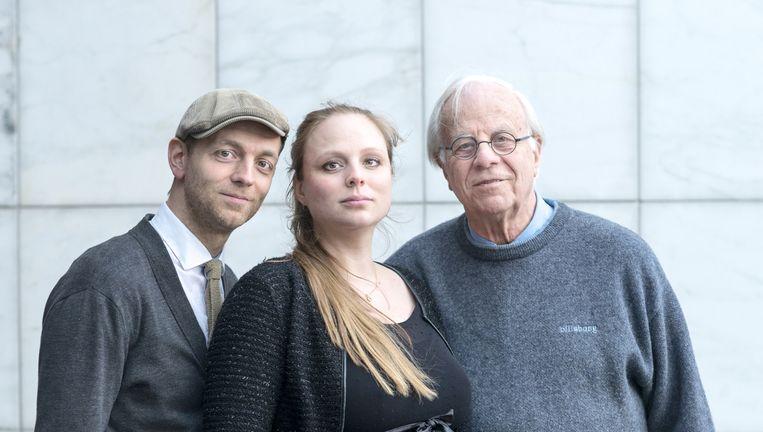 Floris, Hester en Bram van der Vlugt. Beeld Linelle Deunk