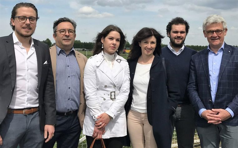 Glen De Waele, Geert Deroose, Marlies Vandesompele, Sophie Demeulenaere, Maxim Laporte en Guy Van den Eynde engageren zich.