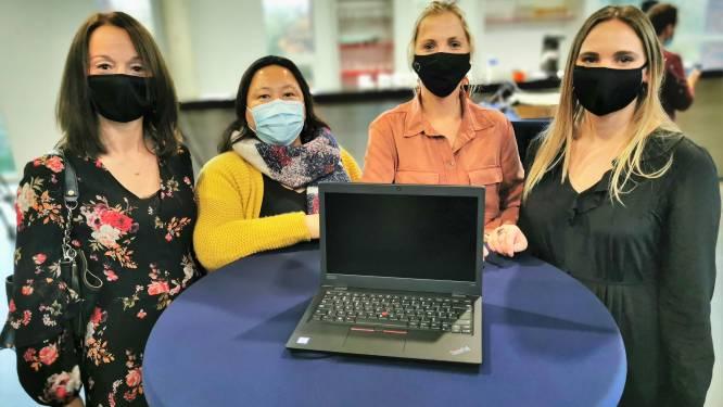 """Heilig Hart&College ontvangt eerste laptops voor kwetsbare leerlingen: """"Veertig procent van scholieren deelt thuis zijn computer"""""""