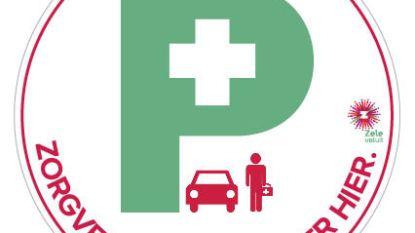 """""""Laat zorgverstrekkers gratis parkeren, ook voor poort van inwoners die met sticker toestemming geven"""""""