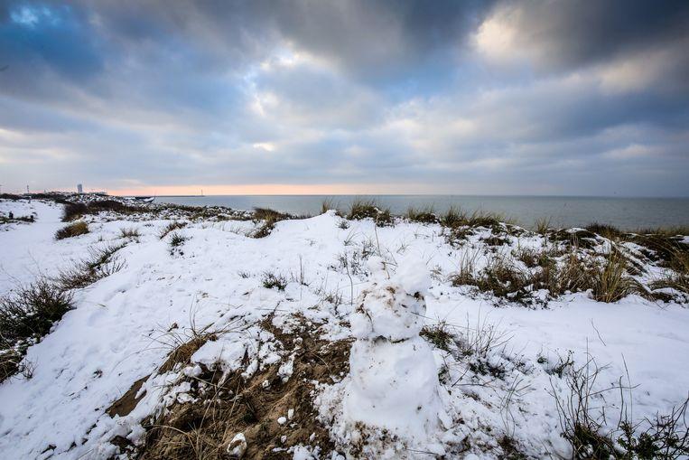 De duinen in Bredene.