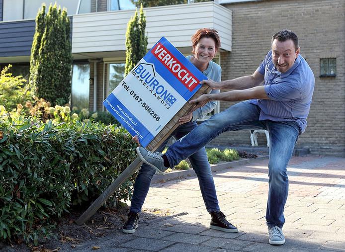 Vincent en Ilona Kalf kochten een huis in Steenbergen Foto Chris van Klinken / Pix4Profs