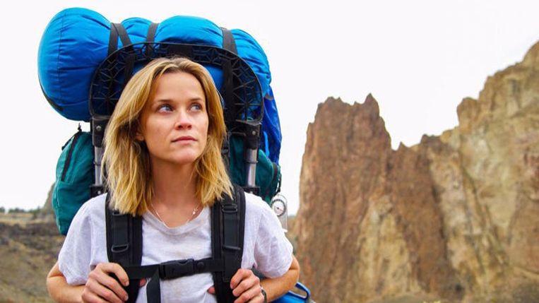 Reese Witherspoon in Wild van Jean-Marc Vallée. Beeld