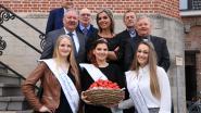 Prinses brengt primeuraardbeien naar koninklijk paleis